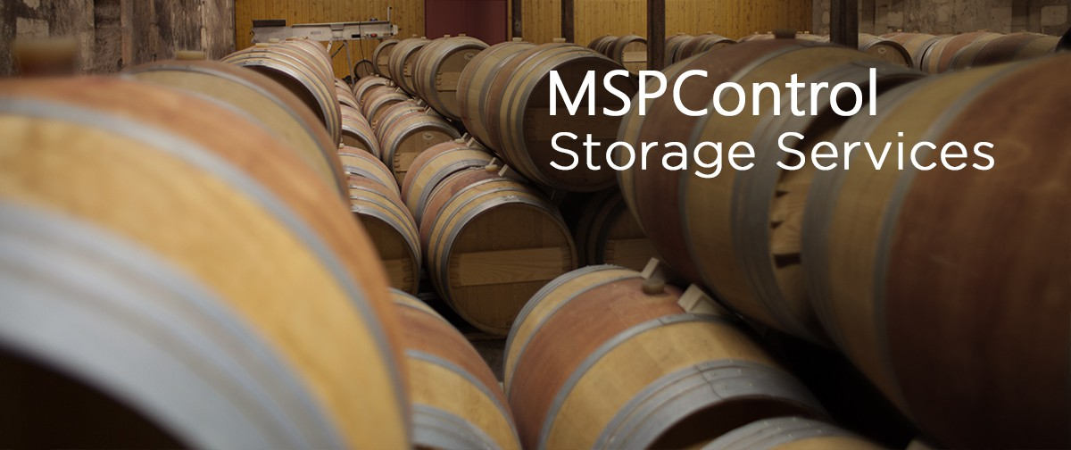 MSPControl Storage Services