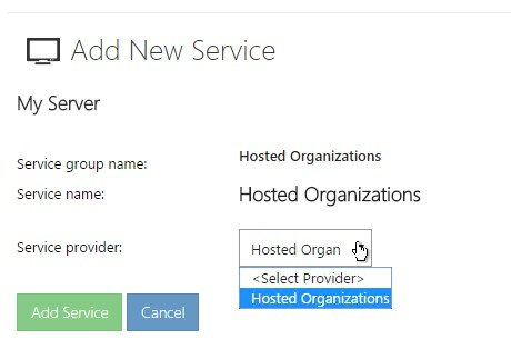 Hosted Organization10