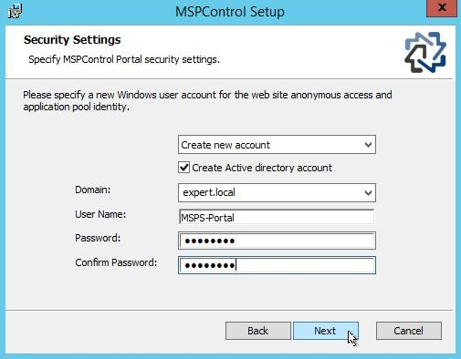 MSP Deployment Guide
