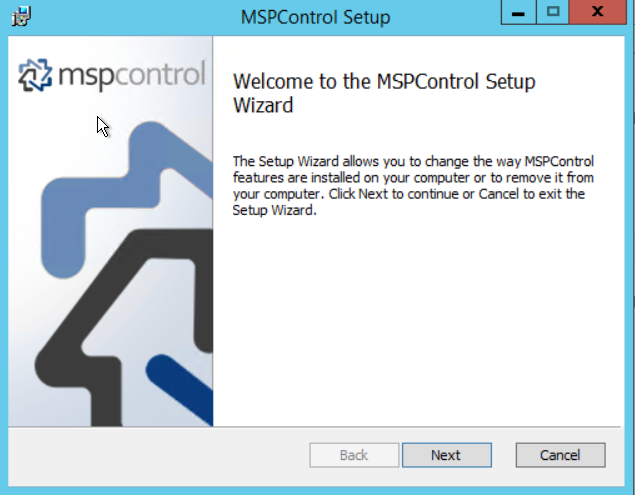 The request failed with HTTP status 400: Bad Request - MSPControl