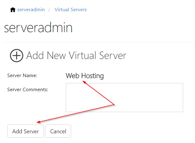how to create web hosting server at home