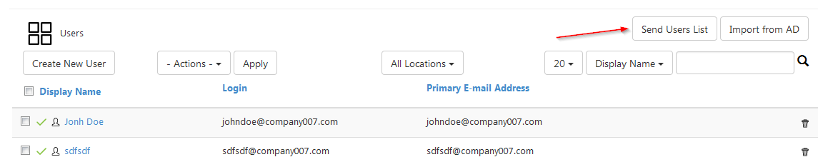how to send several email adresses on shaw