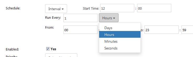 Exact time slot